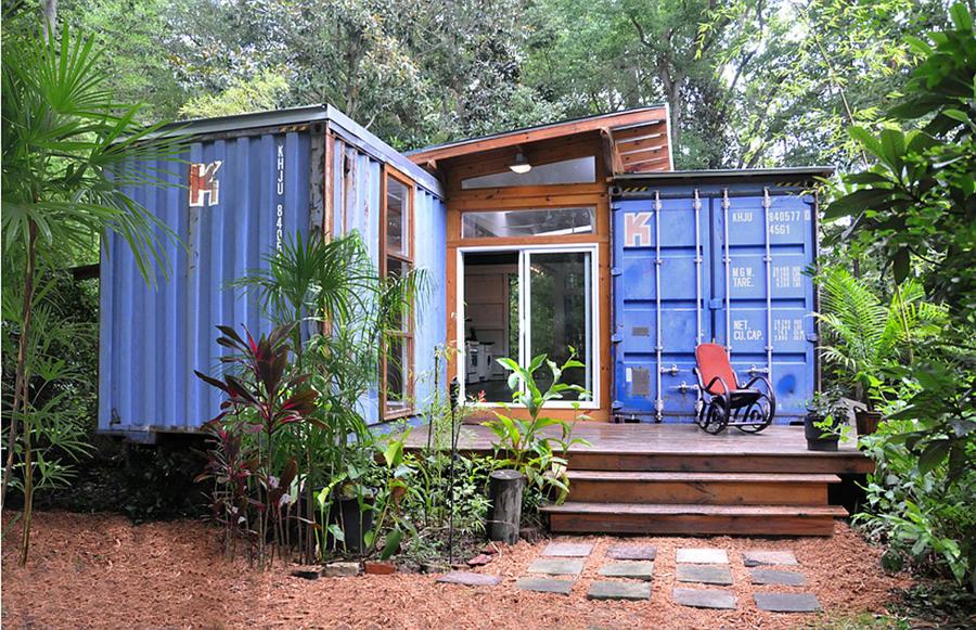 Дом из контейнеров своими руками проекты 54