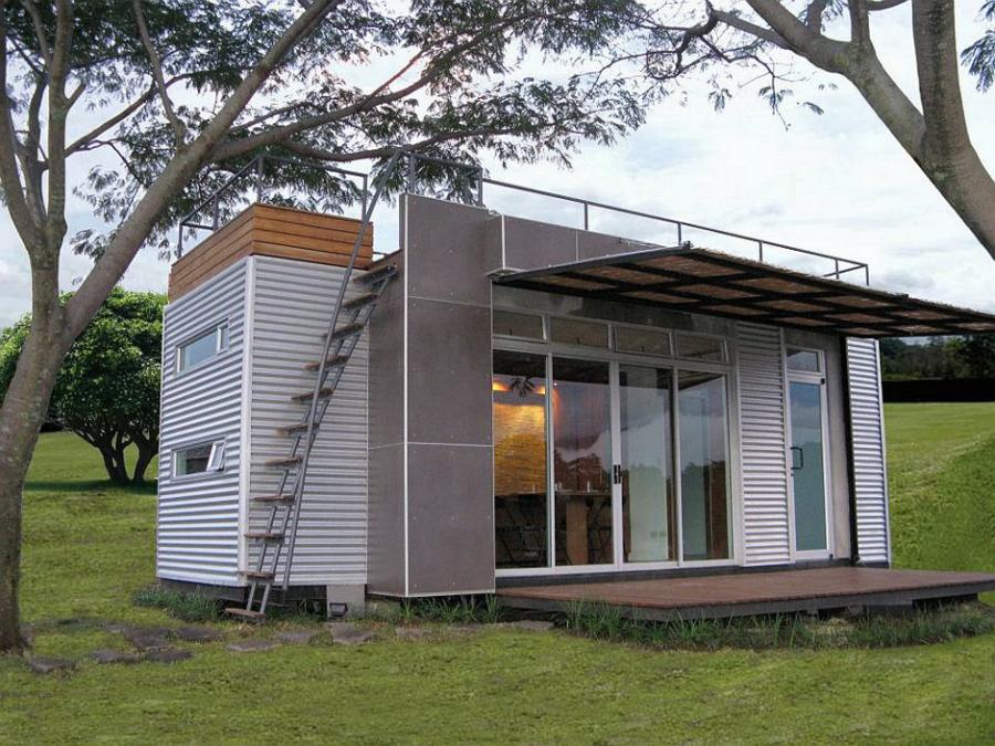 Дом из контейнеров своими руками проекты 32